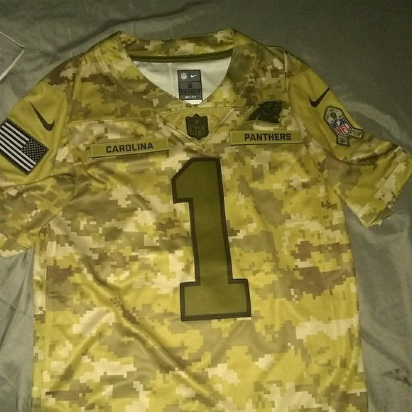 new concept a1796 88111 Limited Edition Authentic NFL Panthers Jersey